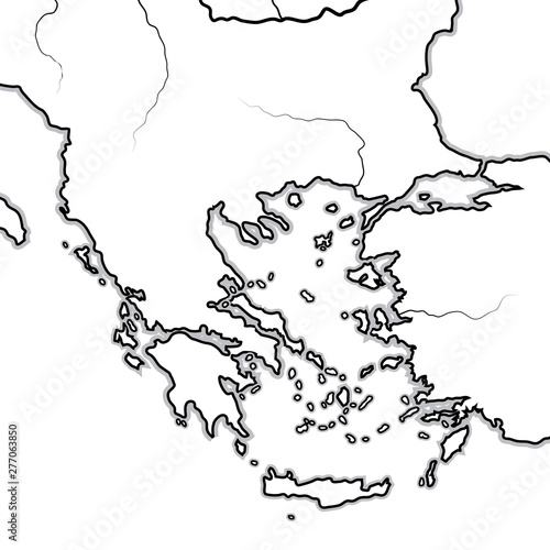 Map of The BALKAN/GREEK Lands: Greece (as), Balkans ... White Map Of Balkans on map of eurasia, map of albania, map of haiti, map of yugoslavia, map of spain, map of middle east, map of montenegro, map of ottoman empire, map of europe, map of caucasus, map of crete, map of ukraine, map of bulgaria, map of pyrenees, map of greece, map of arabian peninsula, map of croatia, map of iberian peninsula, map of moldova, map of baltics,
