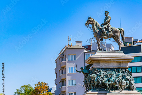 Fotografija Monument of tsar Osvoboditel in Sofia, Bulgaria