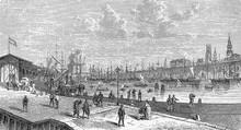 Steam Crane At Kaiser Pier At ...