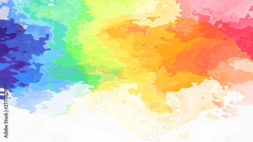 Fotografia, Obraz  abstract stained pattern texture rectangle background light pastel full color sp