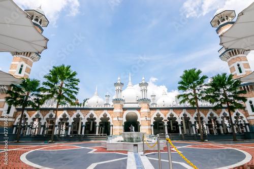 View of Masjid Jamek  Sultan Adul Samad Mosque since 1907 in Kuala Lumpur, Malaysia Wallpaper Mural