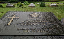 Commonwealth War Cemetery Of World War 2 In Chittagong, Bangladesh