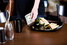 Coffee: Customer Leaves Gratuity On Table