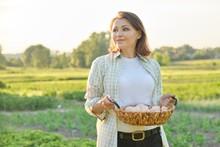 Outdoor Portrait Of Farmer Wom...