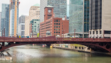 Chicago Dearborn Street Bridge...