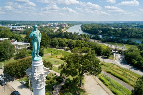 Fotografie, Obraz  Confederate Soldiers and Sailors Monument