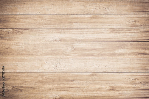 Foto auf Leinwand Holz Brown wood texture background