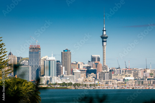 Photo Auckland city skyline