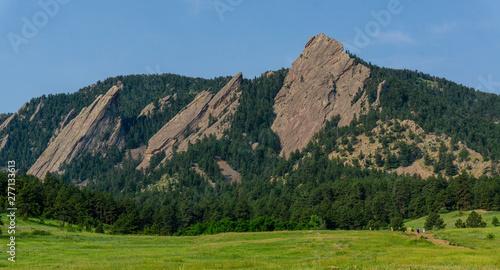 Photo Boulder Colorado Flatirons