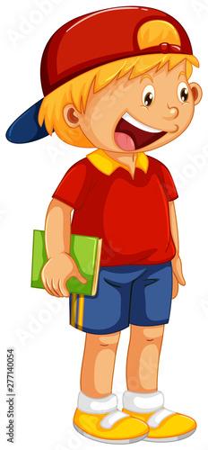 Poster Jeunes enfants A cute boy character
