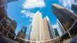東京 高層ビル群 タイムラプス