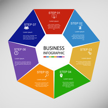 Business InfoGraphics, Geometr...