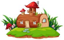 An Isolated Fantasy House