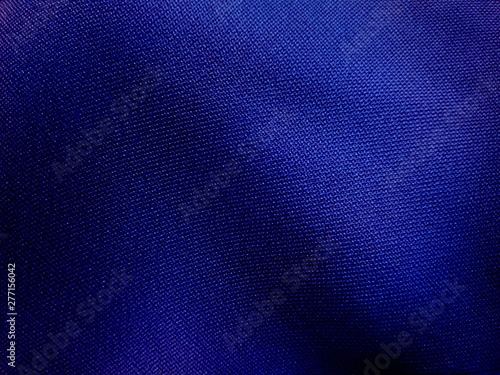 фотография  Blue silk surface Looks elegant, used for making a craft background