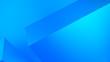 Leinwanddruck Bild - Abstract gradient background Colorful blue geometric shape square