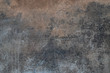 Dark gray old cement wall background close up