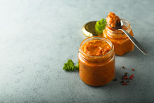 Homemade Roasted Pepper Dip, Canned