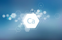 Calcium. Minerals For Human He...