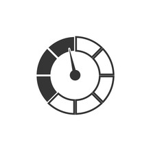 Speedometer Icon Template Blac...