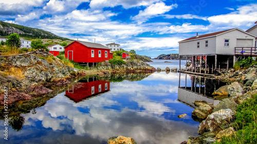 Foto auf AluDibond Dunkelgrau Newfoundland, Canada