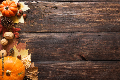 Fototapeta Thanksgiving Background obraz