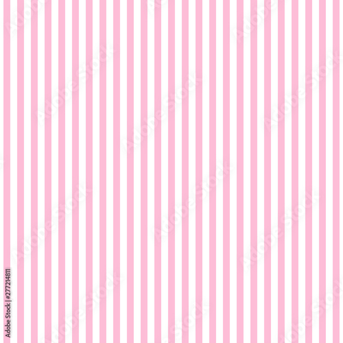 fototapeta na ścianę Vertical pink lines on white background. Abstract pattern with vertical lines. Vector illustration