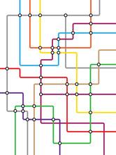 Metro Subway Tube Map - Underg...
