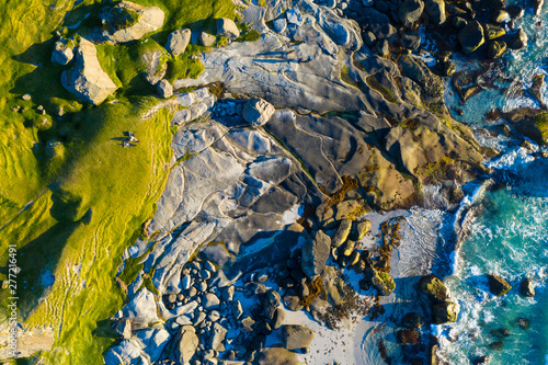 aerial view on the Uttaklei...