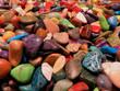 viele bunte Steine
