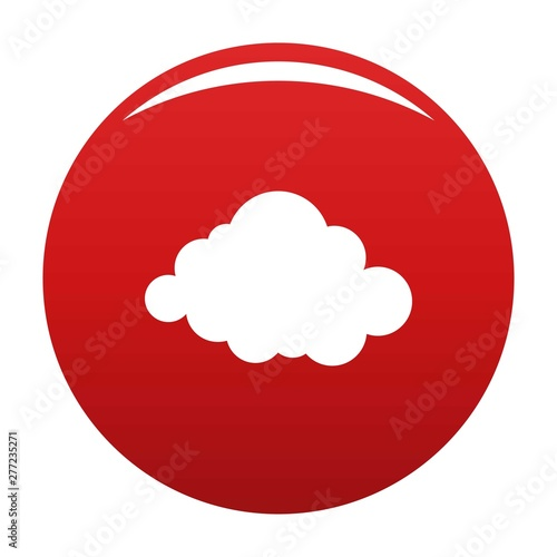 Valokuvatapetti Deformed cloud icon