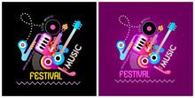 Music Festival Banner Designs