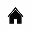 Home icon. House vector icon. Arranged for web. vector illustration