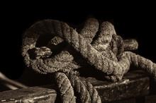 A Vintage Mooring Rope