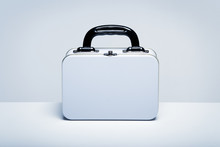 White Tin Lunchbox With Copy S...
