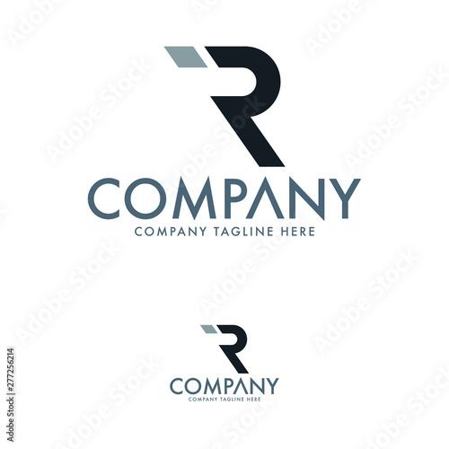 Photo  Creative Letter R Logo Template