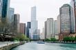 Riverwalk in Chicago