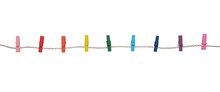 Multicolored Wooden Clothespin...