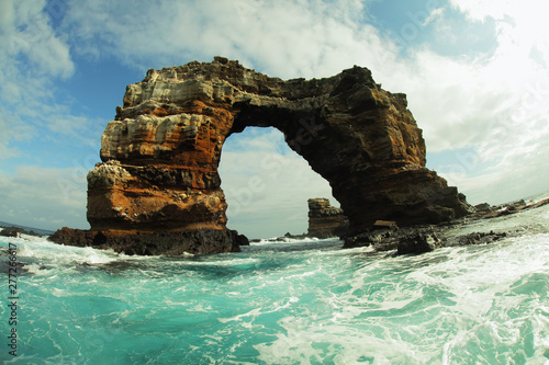 Photographie Darwin's arch in Galapagos islands