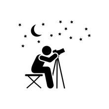 Gazer, Night, Star, Night, Pho...