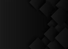 Abstract. Black Square Shape B...
