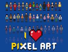 Love Pixel Art, People Video G...