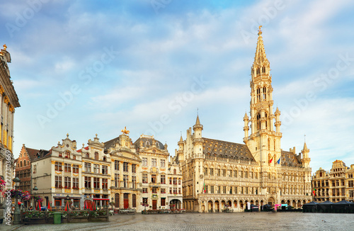 Brussels - Grand place, Belgium, nobody