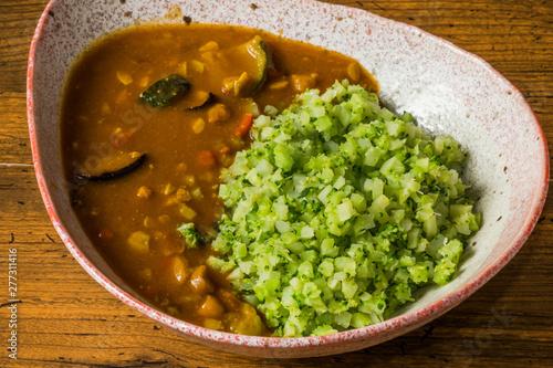 Valokuva  ブロッコリーライス Vegan Rice Vegetarian Rice Broccoli Rice