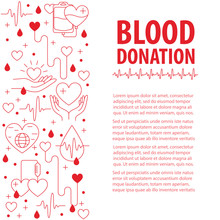 Donation Blood Template