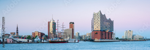 Elbphilharmonie concert hall in Hamburg, Germany Canvas Print