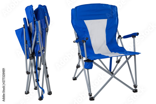 Strange Blue Folding Chair For Camping Or For Fishing Two Folding Ncnpc Chair Design For Home Ncnpcorg
