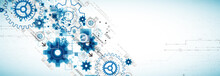 Abstract Technology Business B...