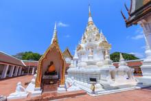 Buddha Relic Pagoda Stupa At Wat Phra Borommathat Chaiya Worawihan, Surat Thani