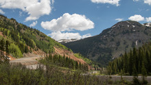 Views From The Million Dollar Highway In Colorado