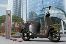 Electric Scooter For Sharing W...